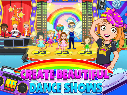My Town : Dance School. Girls Pretend Dress Up Fun 1.19 screenshots 13