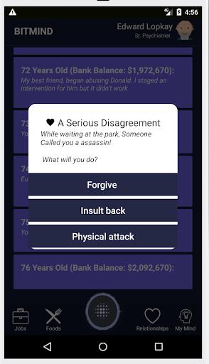 Life Simulator - Social Networking: BiTMiND cheat screenshots 5