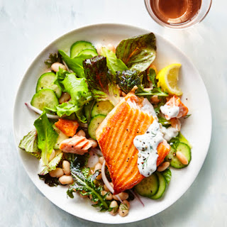 Salmon Salad With Herbed Yogurt