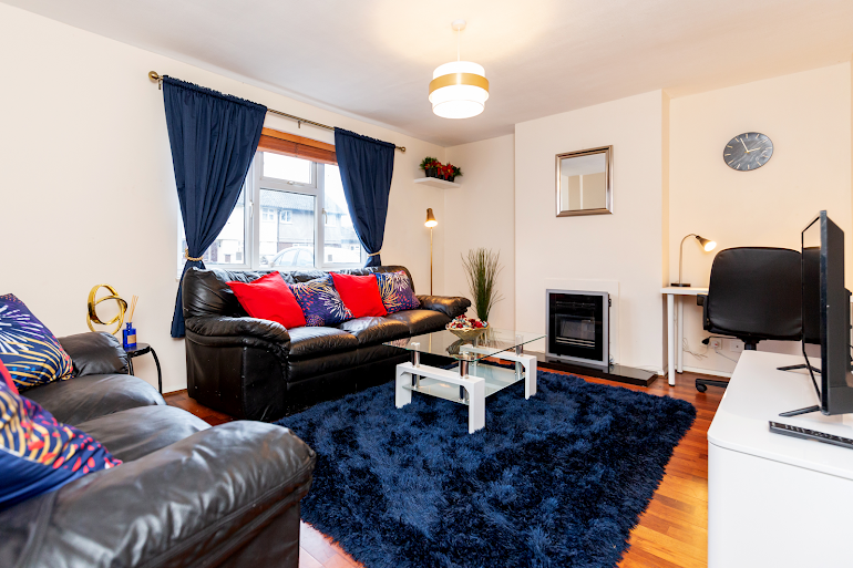 Living room at Chadwell Heath