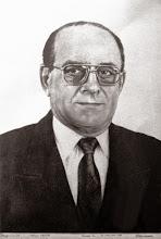 """Photo: Bruno Steinbach Silva. """"Jerônimo Noguchi de Góis Rosado"""". Crayon/papel cançon, 40 x 30 cm, 1996, Mossoró, RN, Brasil.  Coleção particular."""