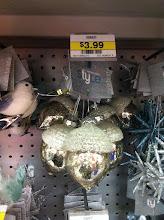 Photo: These mercury glass acorn ornaments were my favorite