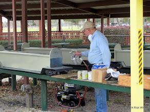 Photo: It is not spraying.   Bob Barnett.   2014-0104 RPW