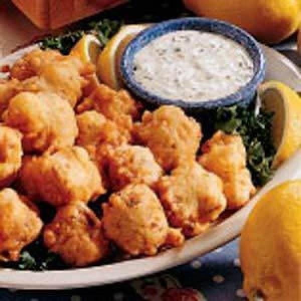 Clam Fritters Recipe