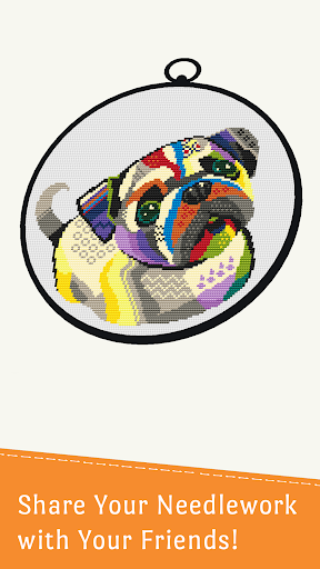 Cross Stitch Club u2014 Color by Number with a Hoop screenshots 6