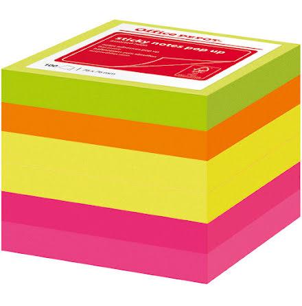 Notis Z-block 76x76 neon 6/fp