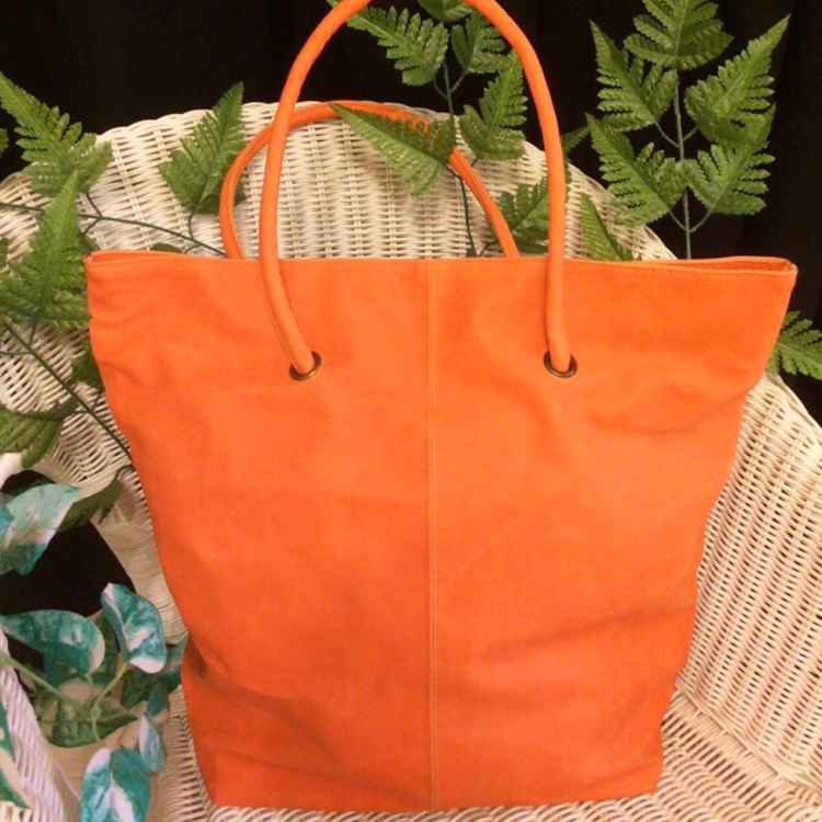 Orange Tall tote bag by Le Tea Boutique