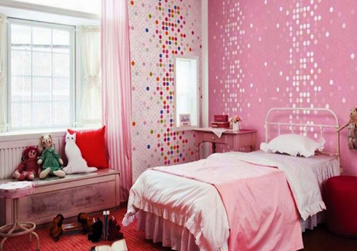 Bedroom Little Girls Decoration screenshot 3