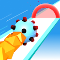 Hue Dash - Color Bump Rolling Ball Offline Game 3D icon