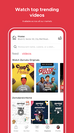 Zomato - Restaurant Finder and Food Delivery App screenshot 8