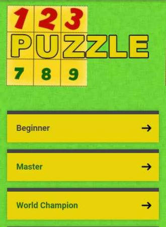 123Puzzle - στιγμιότυπο οθόνης
