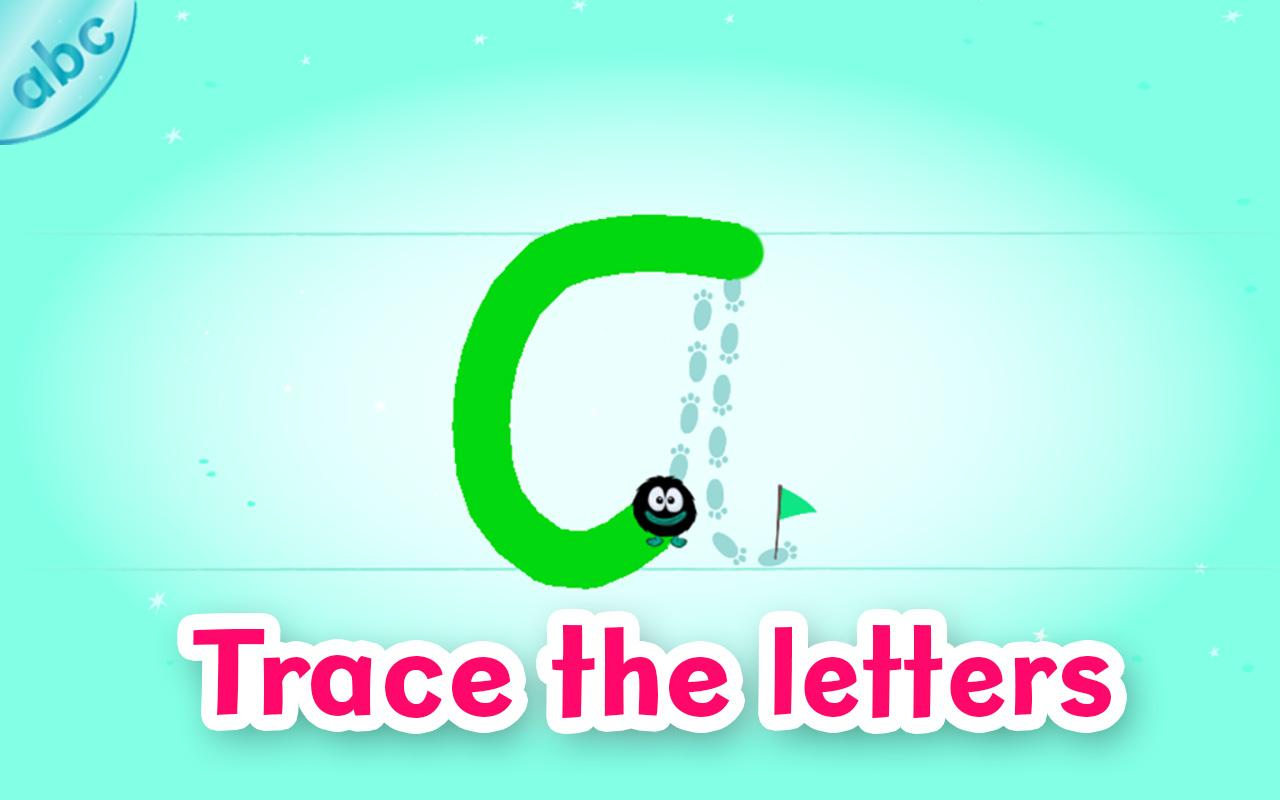 Hairy Letters- screenshot