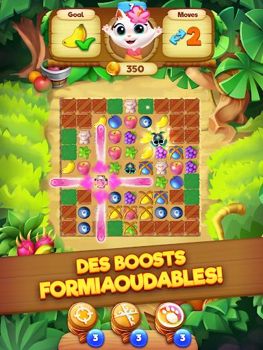 Code Triche Tropicats: Un Jeu de Chat Gratuit Match 3 Puzzle APK MOD screenshots 6