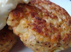 Sherry's Salmon Patties Recipe