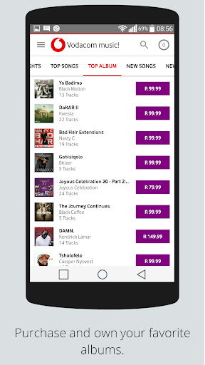 Vodacom music! Apk Download 5