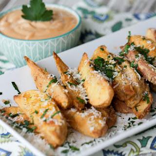 Crispy Baked Potato Wedges {Grain & Gluten Free}