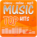 Top music online video hits icon