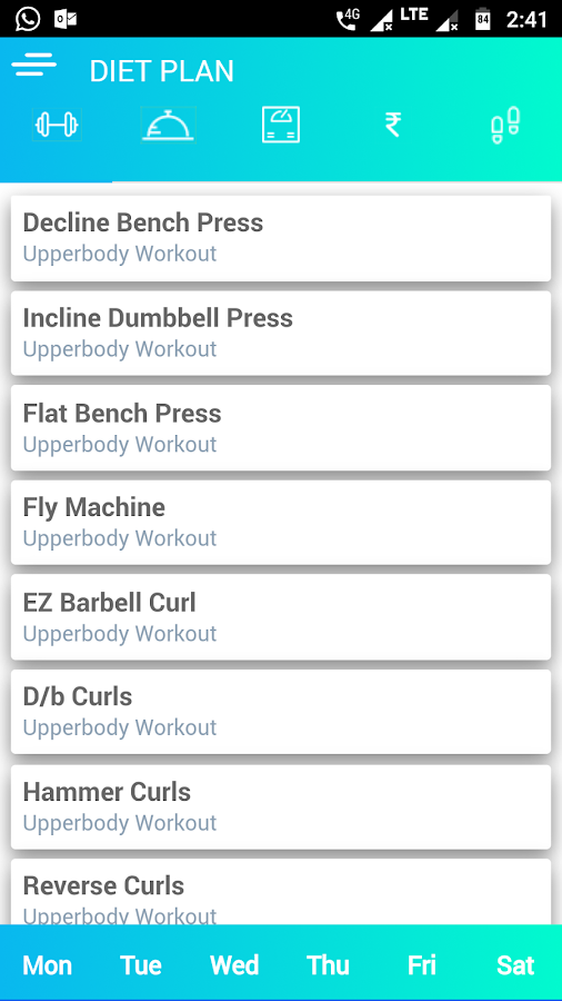 Fitness Manager - Anayan- screenshot