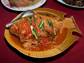 Photo: braised Yunnanese fish