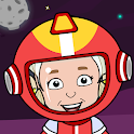 My Space Town Adventure - Universe Games for Kids icon