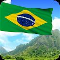 3D Brazil Flag (Wallpaper) icon