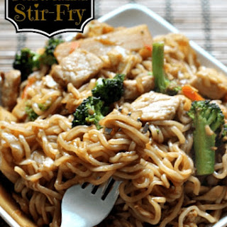 Pork & Ramen Stir-Fry