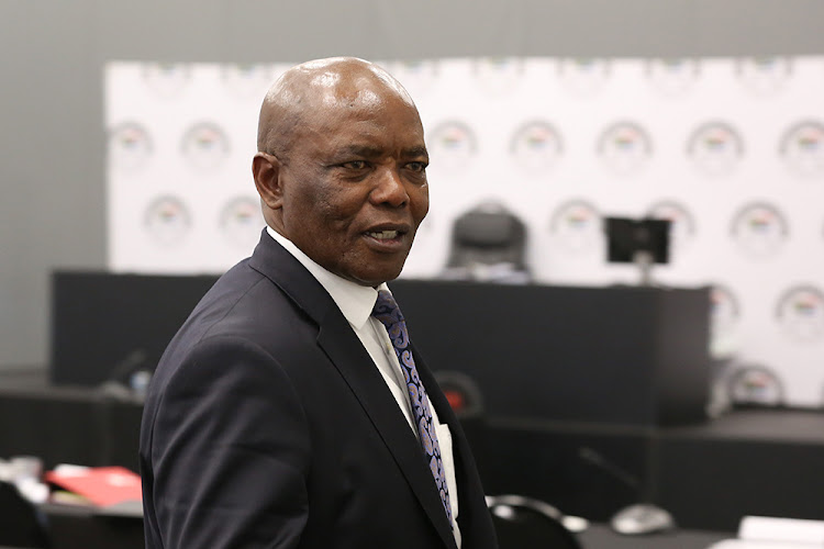 Bruce Koloane, former chief of state protocol, at the state capture inquiry in Parktown, Johannesburg, on July 3 2019.