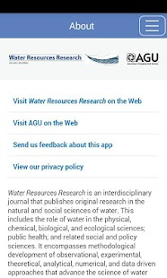 Water Resources Research- screenshot thumbnail