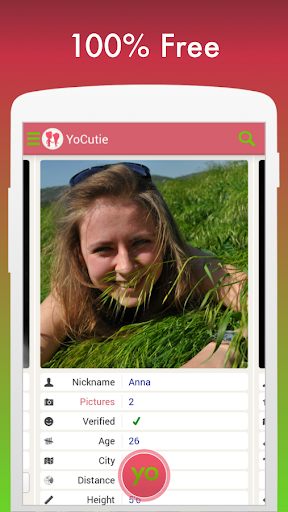 Free Dating App - YoCutie - Flirt, Chat & Meet screenshot