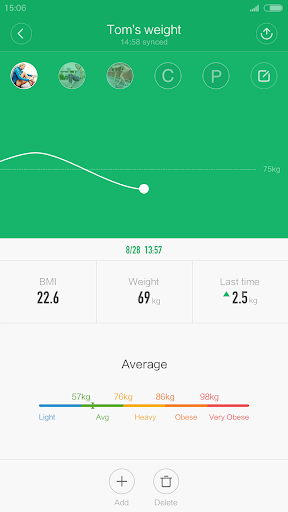 Mi Fit app (apk) free download for Android/PC/Windows screenshot