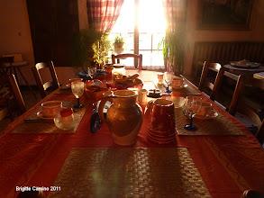 Photo: Un petit déjeuner royal ce matin