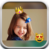 Emoji Square Collage Editor