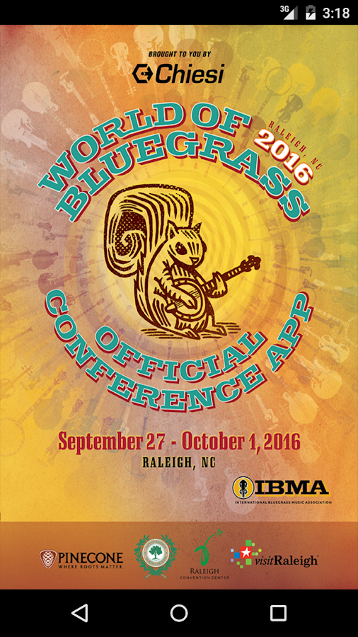 World of Bluegrass Conf' 2016- screenshot