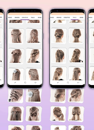 Hairstyles step by step 1.23 screenshots 10