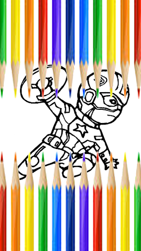 Book Coloring Kid Game