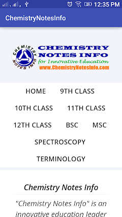 Best Chemistry Notes