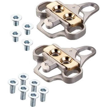 Xpedo XPR Cleat Set for 3-hole Bolt Pattern Adapts to SPD-Style Cleat