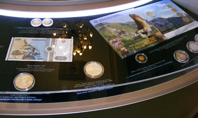 ANIMALS ON COINS EXHIBITION AT MUSEUM OF ROMANIAN CENTRAL BANK