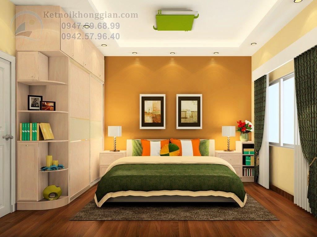 thiết kế phòng ngủ trang nhã