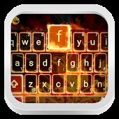 Fire Flowers Keyboard