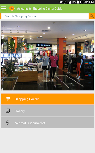 Shopping Center Guide