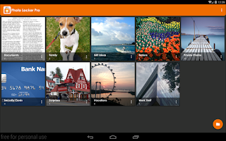Screenshot of Hide Photos in Photo Locker