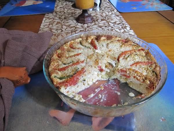 Fresh From The Garden Crustless Pie