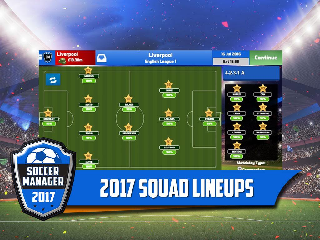 Soccer Manager 2017- screenshot