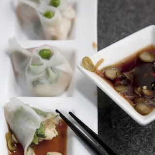 Har Gow (Shrimp and Pea Shoot Dumplings)
