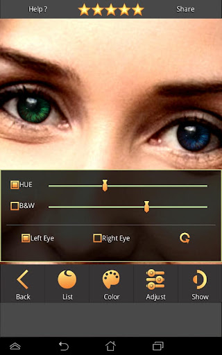 FoxEyes - Change Eye Color by Real Anime Style screenshot 3