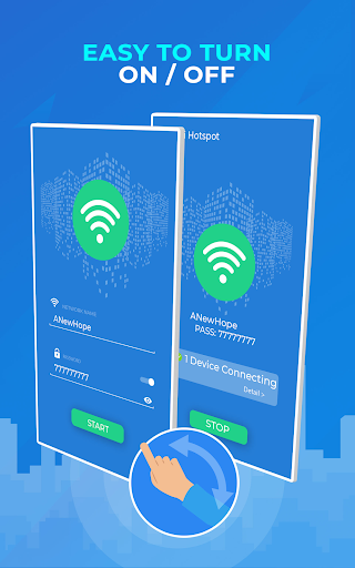 Screenshot for WiFi Hotspots – Mobile Hotspots – WiFi Sharing App in United States Play Store