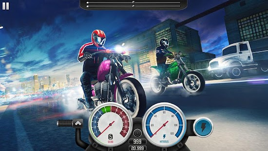 Top Bike: Street Racing & Moto Drag Rider Screenshot
