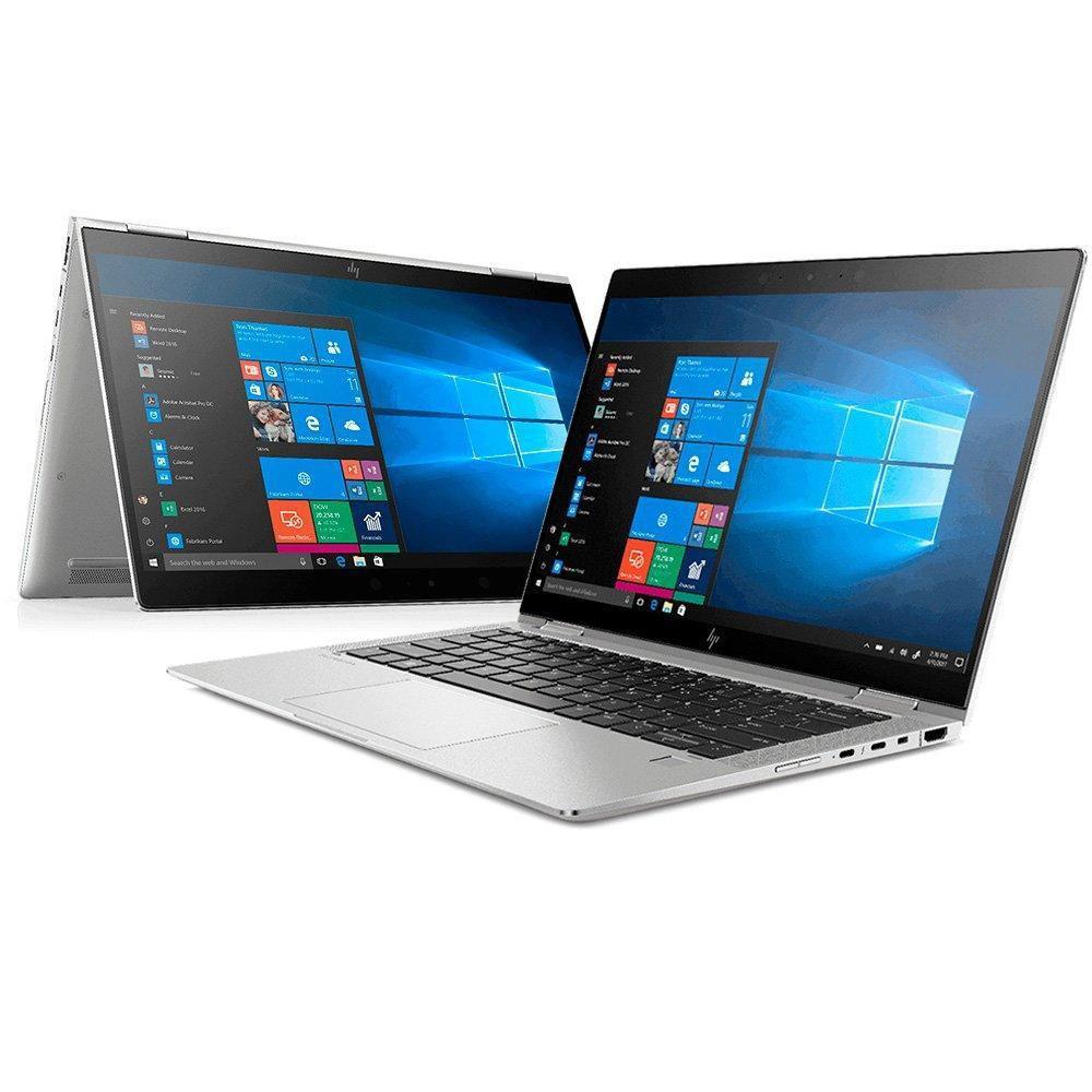 Foto de notebook HP do modelo EliteBook x360