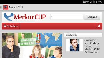 Screenshot of Merkur CUP